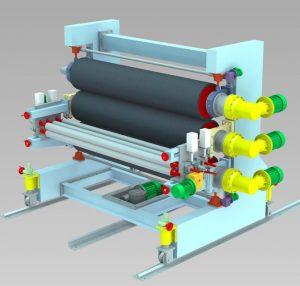 دستگاه کلندرینگ صنعت پلاستیک و پلیمر