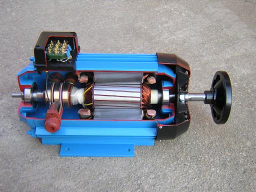 موتور اسلیپ رینگ (Slip ring)